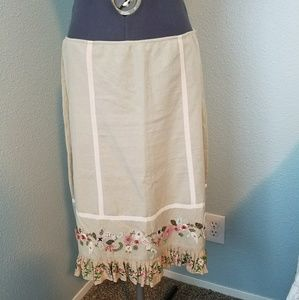 Anthro Odille skirt